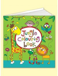 Image of Square Colouring Book - Jungle
